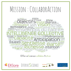 EfferveScience collaborActive, intelligence collective