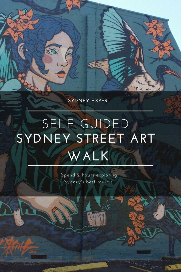 inner west selfguided street art walk is part of Sydney travel - Inner West SelfGuided Street Art Walk Streetart Australia
