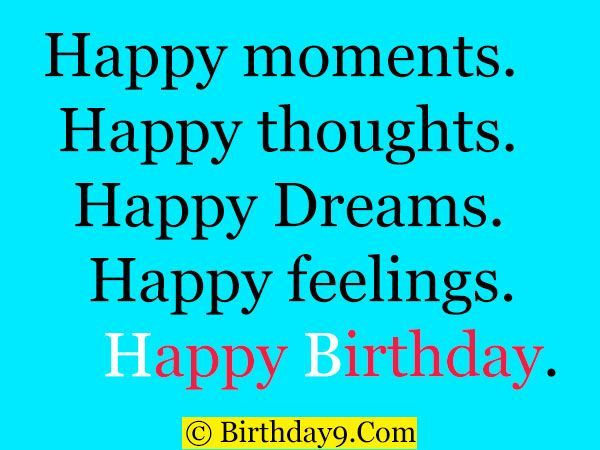 Best Birthday Wishes Quotes Short Happy For A Friend