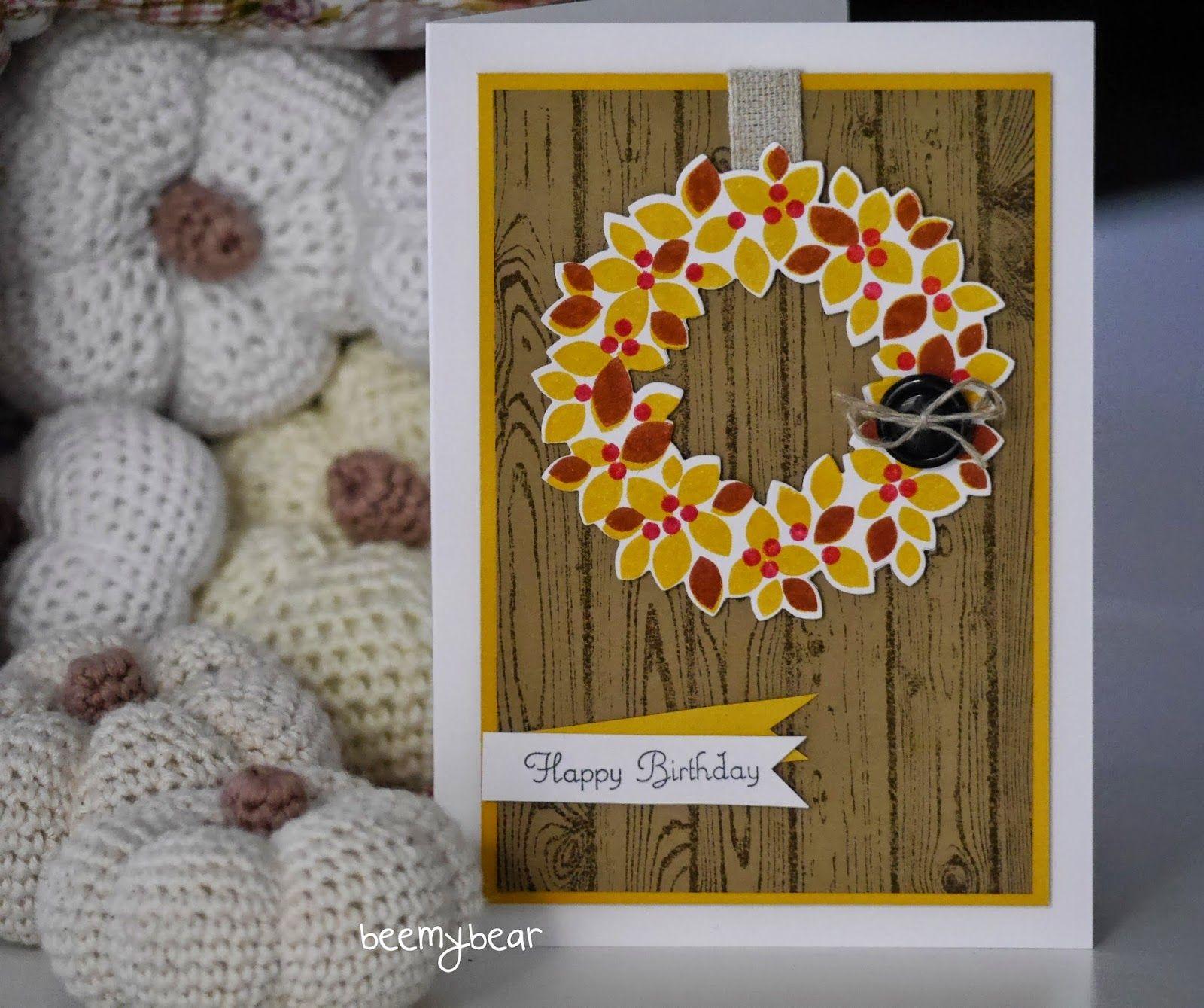 stampin with beemybear - Willkommen Weihnacht, StampinUp