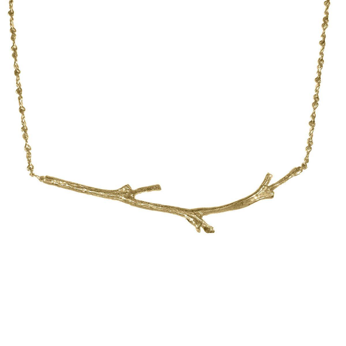 Branch Necklace Vermeil by Catherine Weitzman