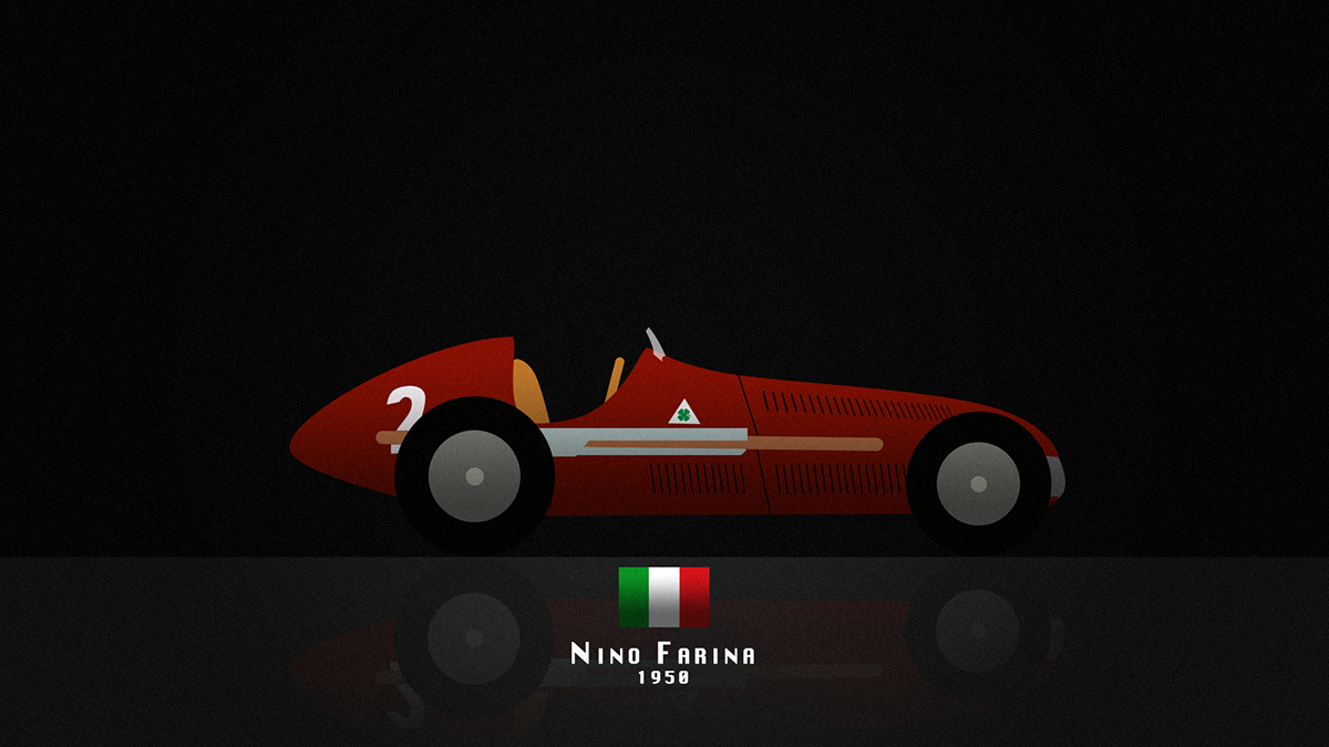 Formula 1 - Hall of Fame Digital Art Illustration by Raphael Rodrigues