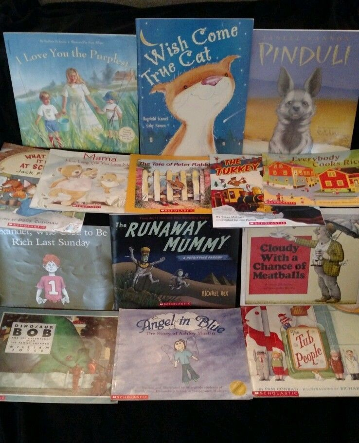 Childrens Books Lot Of 14 Stories By Popular Authors Scholastic