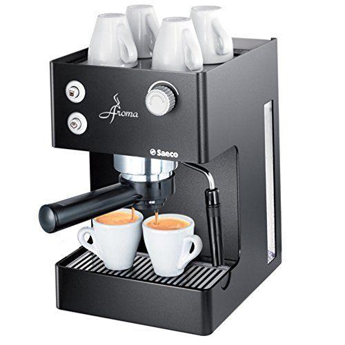 Saeco RI Aroma Espresso Machine Black image to review