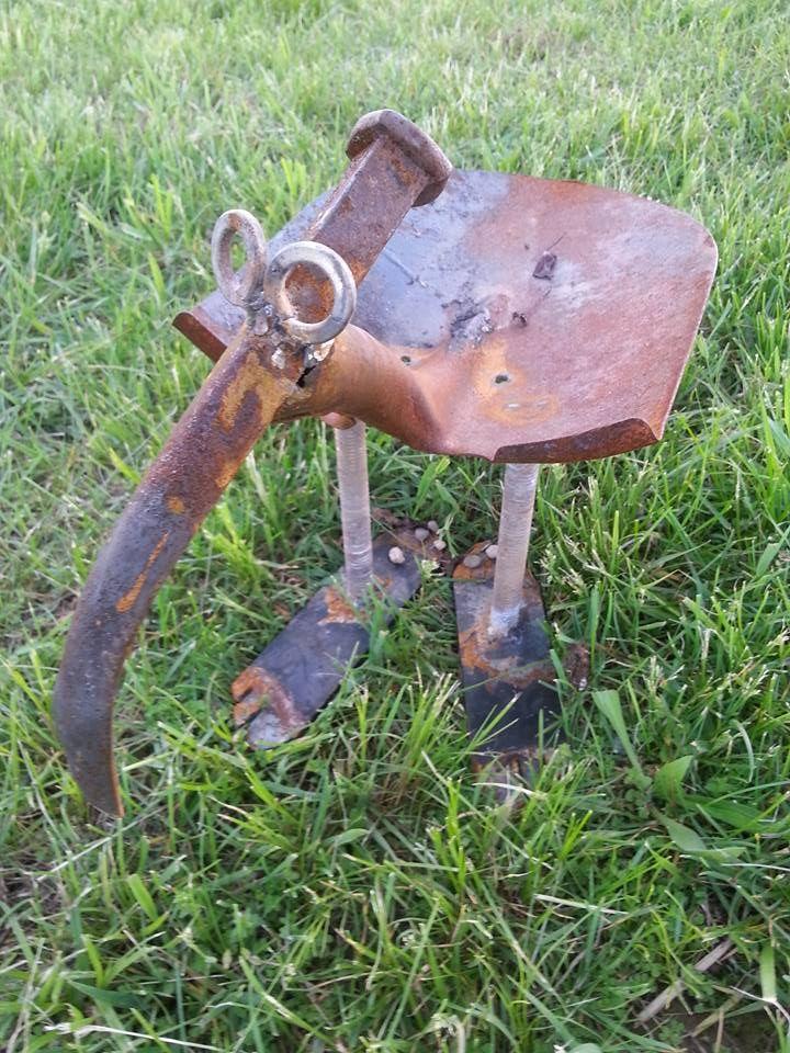 Short Bird Bird Feeder Rusty Relics Metal Art Metal Art