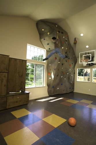 climbing walls in homes Home Climbing Wall Designs Pictures