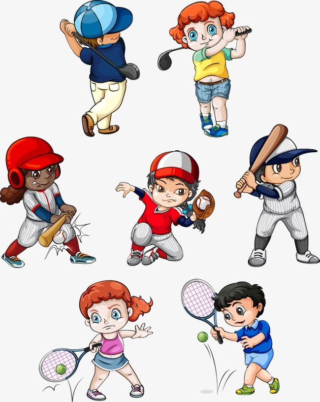 Vector Sport Kids Sport Vector Kids Vector Kids Clipart Png And Vector With Transparent Background For Free Download Kids Sports Character Design Tutorial Kids Vector