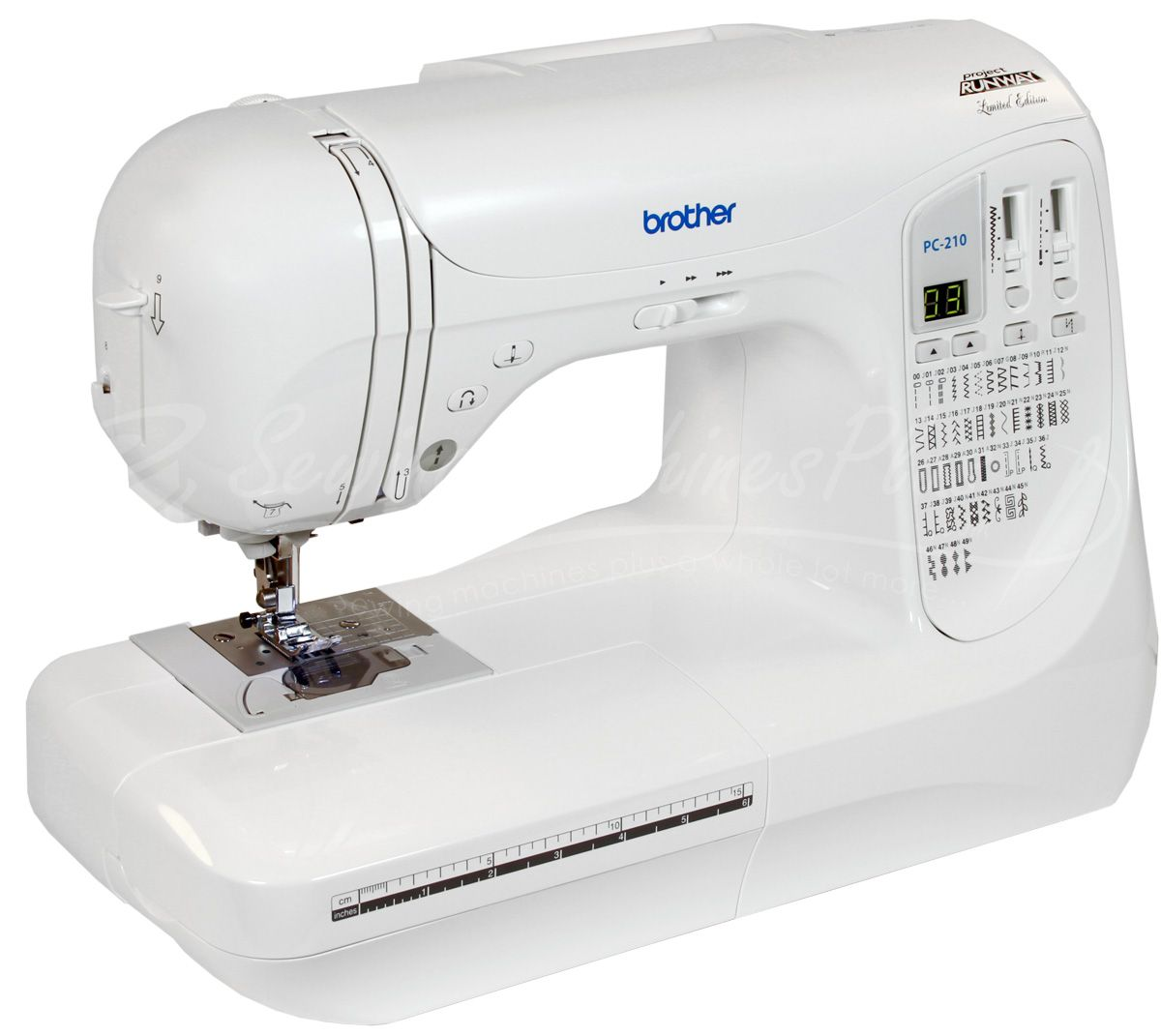 Brother PC-210PRW Limited Edition Project Runway Sewing ...