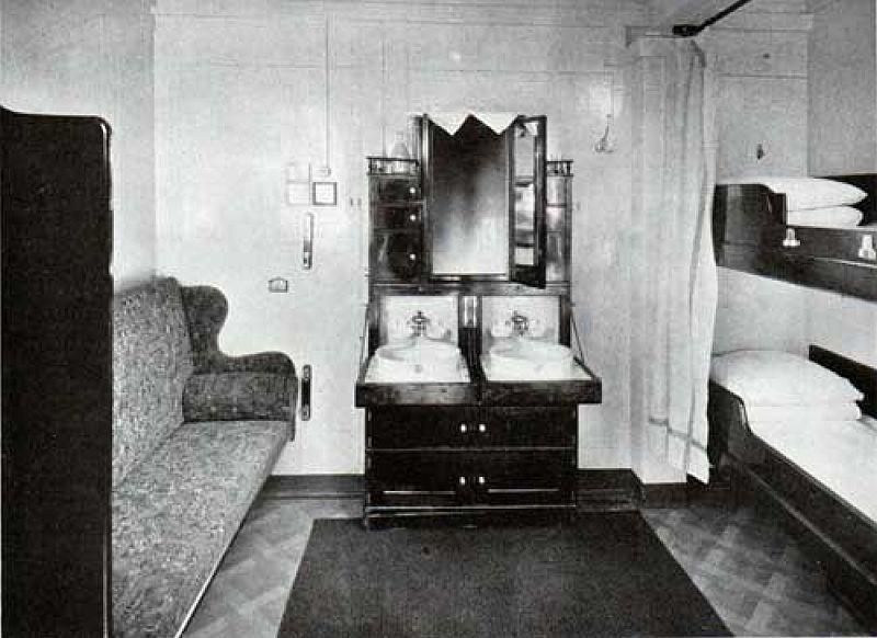 Second Class Outside Two Berth Cabin Titanic