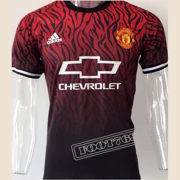 tous les chemise polo manche courte manchester united rouge noir homme vintage 2017 2018. Black Bedroom Furniture Sets. Home Design Ideas