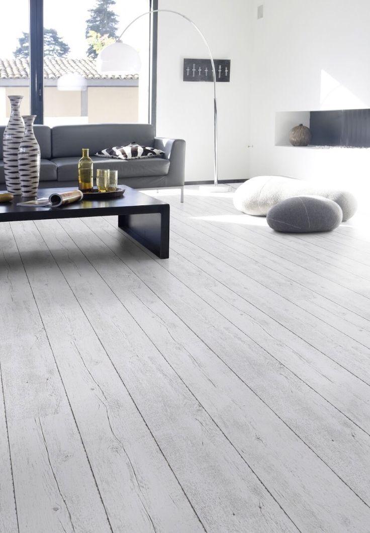 Light Gray Wood Virgin Material Pvc Flooring For Home