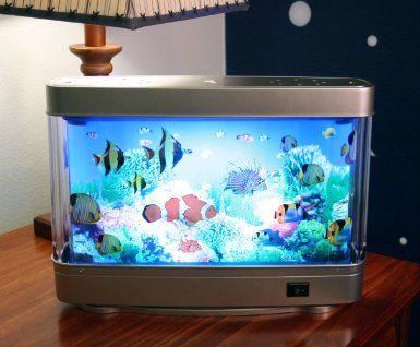 Amazon Com Aquarium Lamp With Fish Ocean In Motion Revolving