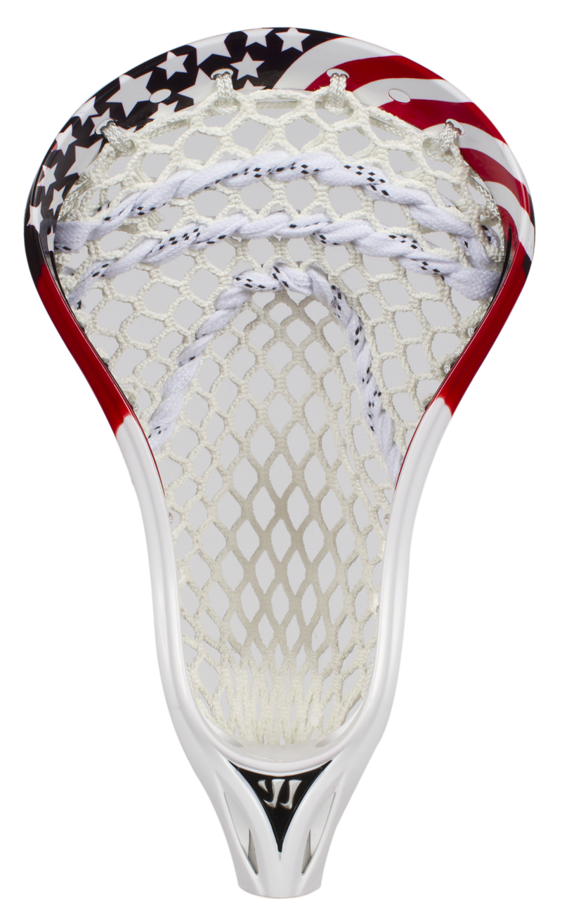 Lacrosse Unlimited Exclusive Dyed Head American Flag Very Cool Use This With Your Ripit Lax Goal From Www Rukket Com Lacrosse Lacrosse Boys Lacrosse Girls