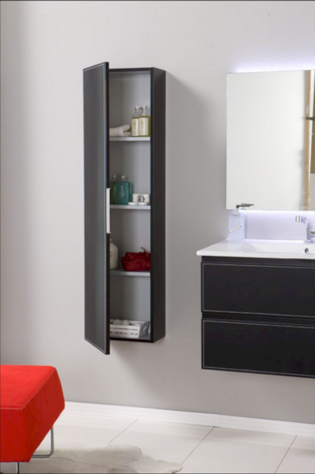 Wall Mounted Bathroom Storage Cabinets Wall Mounted Cabinet
