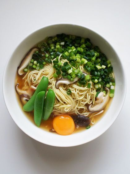 Miso ramen noodles with scallion mushrooms and egg savoury miso ramen noodles with scallion mushrooms and egg healthy food recipesegg forumfinder Choice Image
