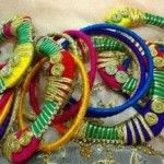 New Beautiful Handmade Bangles Collection 2014 15 For Girls