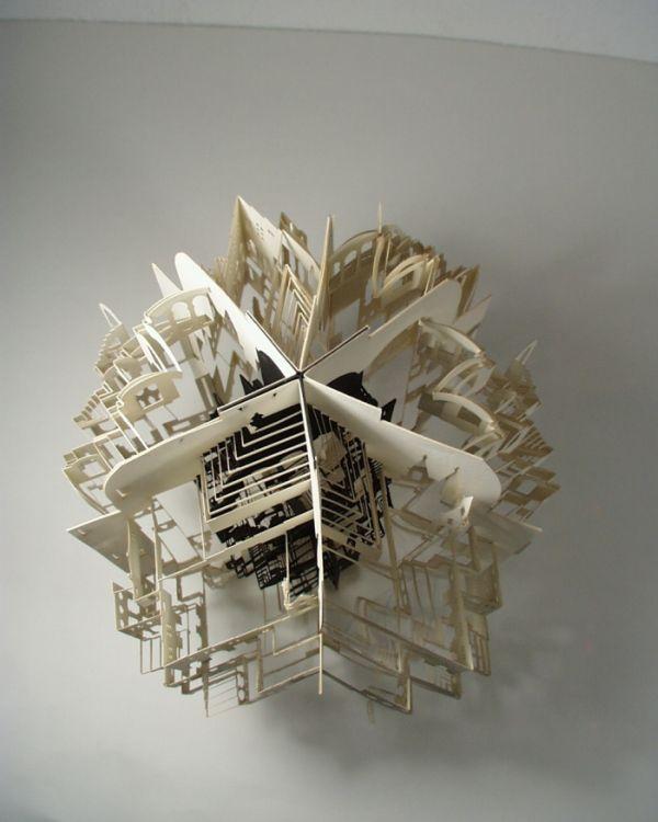 Origami Architecture  deck railing http://awoodrailing.com