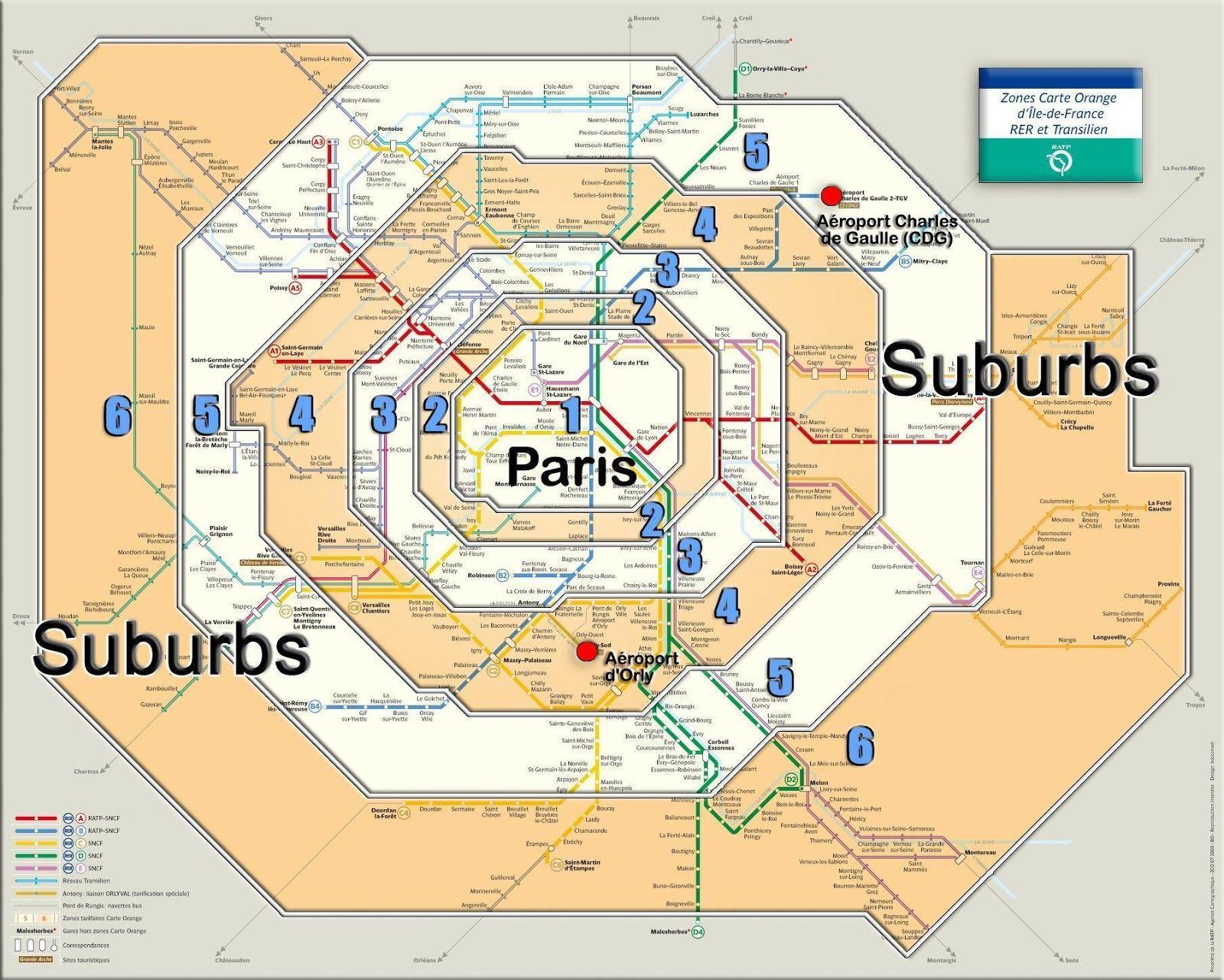 Paris Metro Zones  Art and Architecture tour  Pinterest  Paris