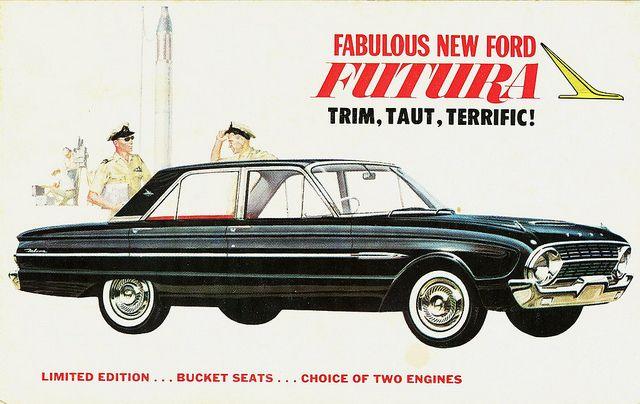 1962 Ford Falcon Futura Sedan Xl Australia By Aldenjewell Via