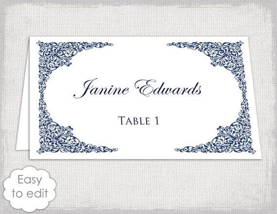 This Item Is Unavailable Etsy Wedding Place Card Templates Wedding Place Cards Place Card Template