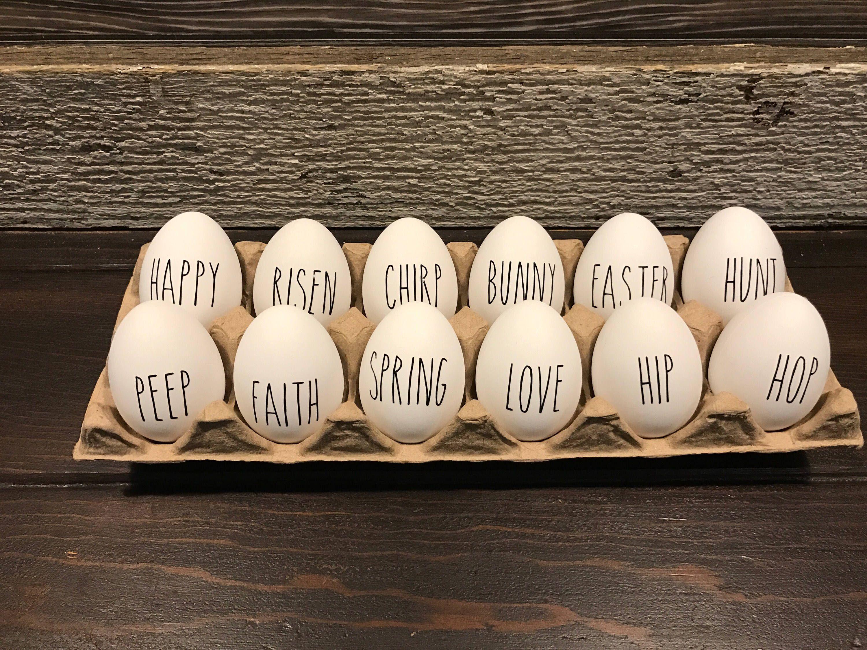 Photo of Rae Dunn Inspired Easter Eggs Dozen