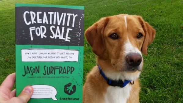 Creativity For Sale is 100% certified pet friendly!