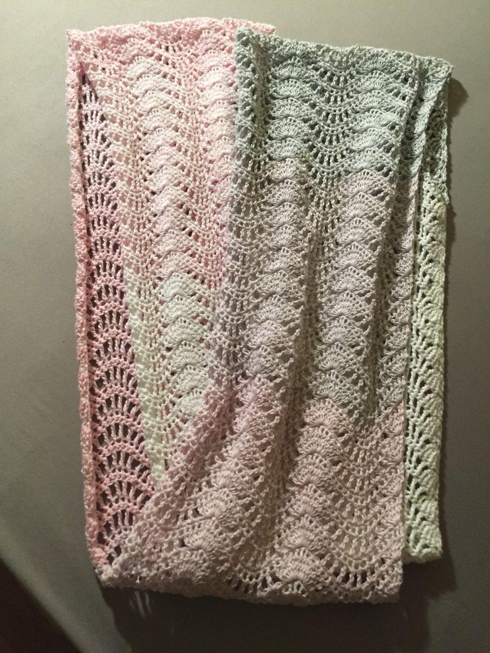 Häkeln Crochet: Loop, gehäkelt nach dem Feather and Fan Muster mit ...