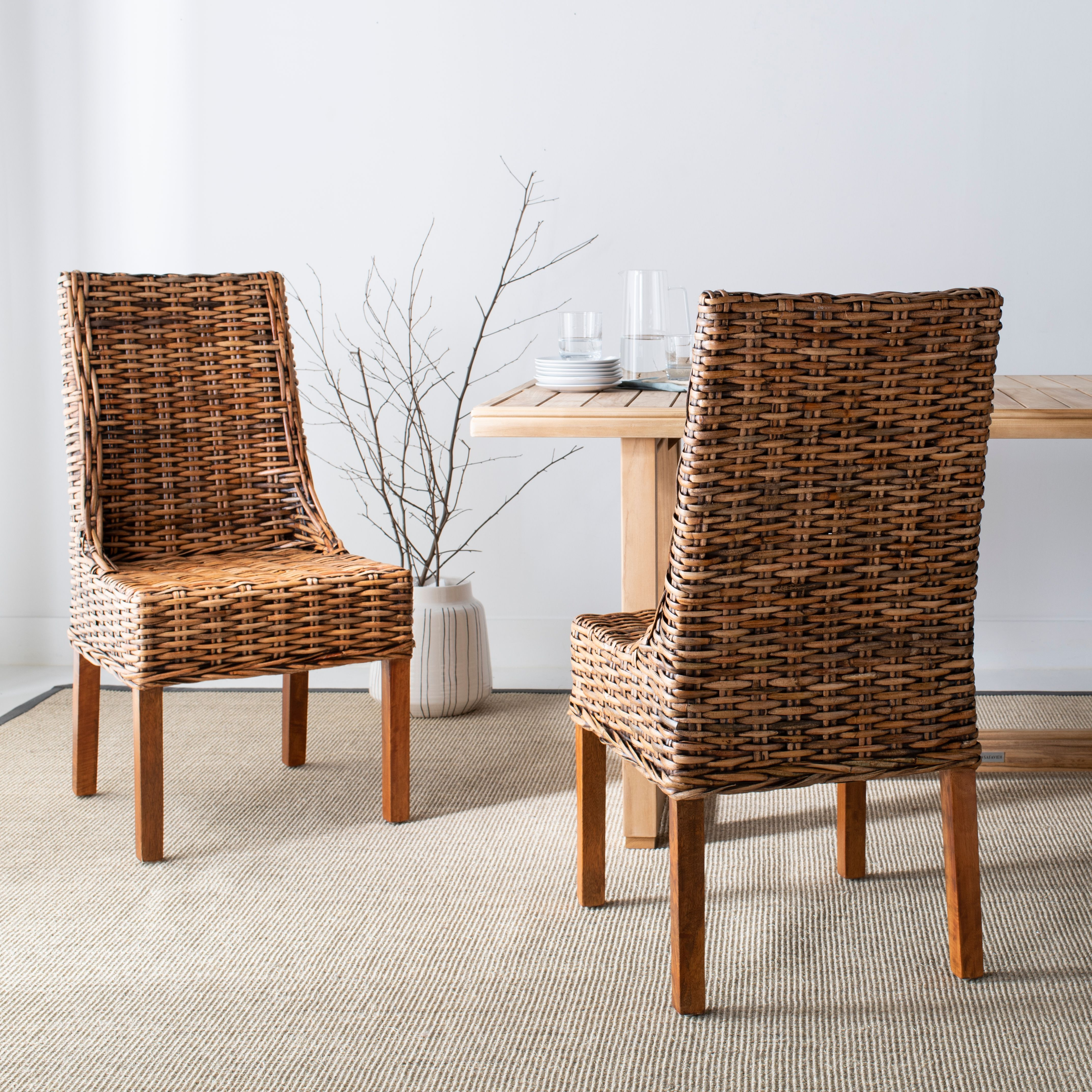 24+ Rattan dining chair set Various Types