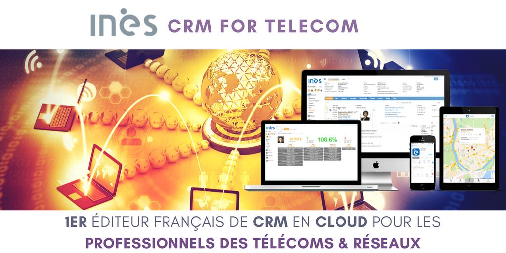 Découvrez INES CRM for la solution CRM dédiée aux