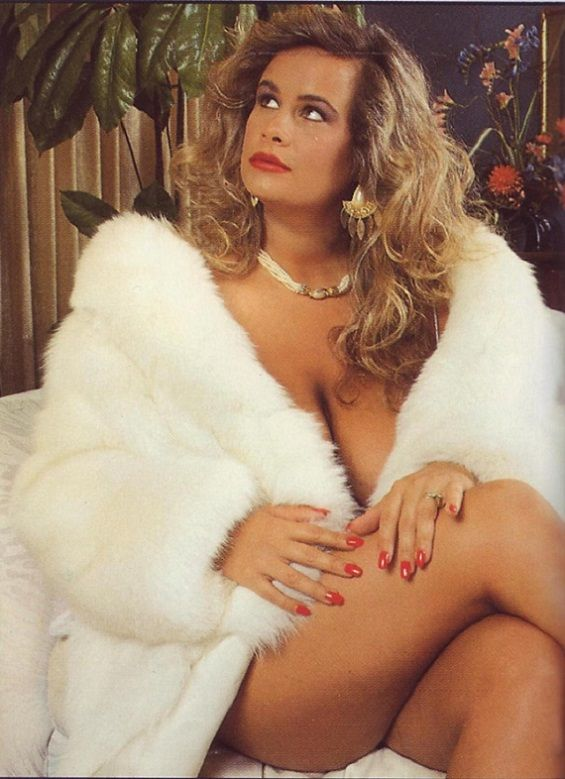 vintage nude women in fur