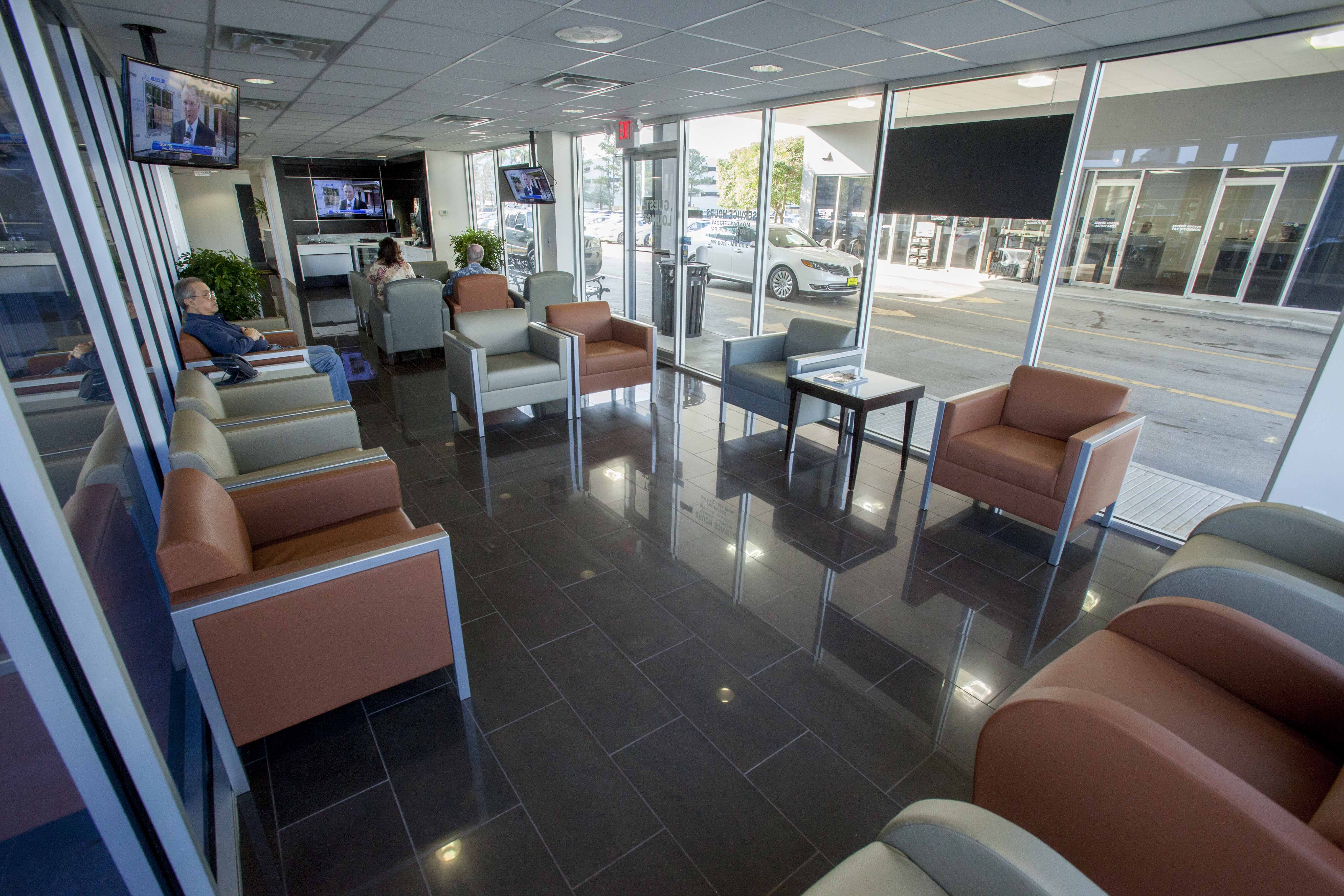Spacious Waiting Areas With Comfortable Seating For