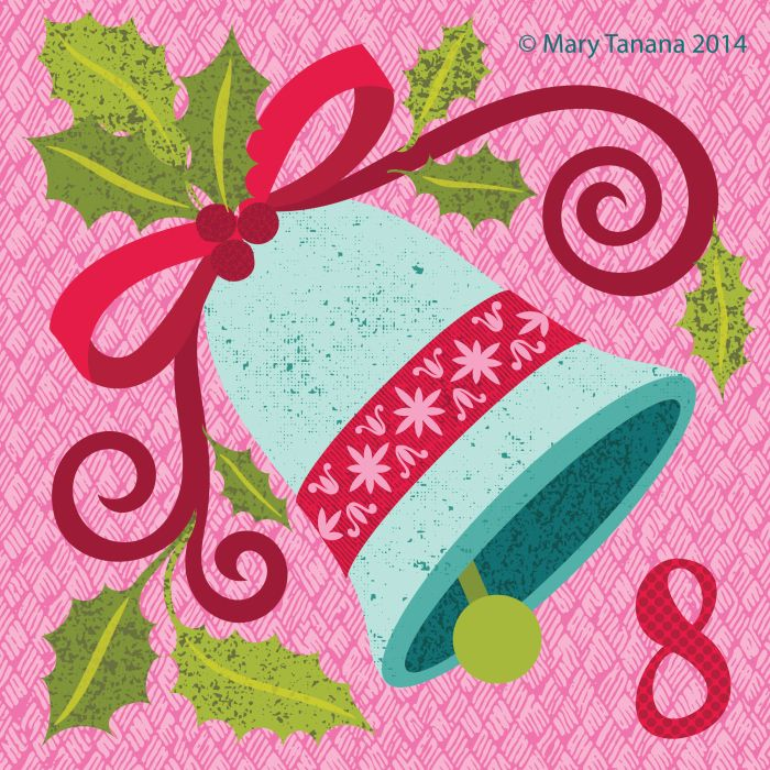 """#adventchallenge2014 Day 8 © Mary Tanana 2014 """"Ding-Dong"""""""