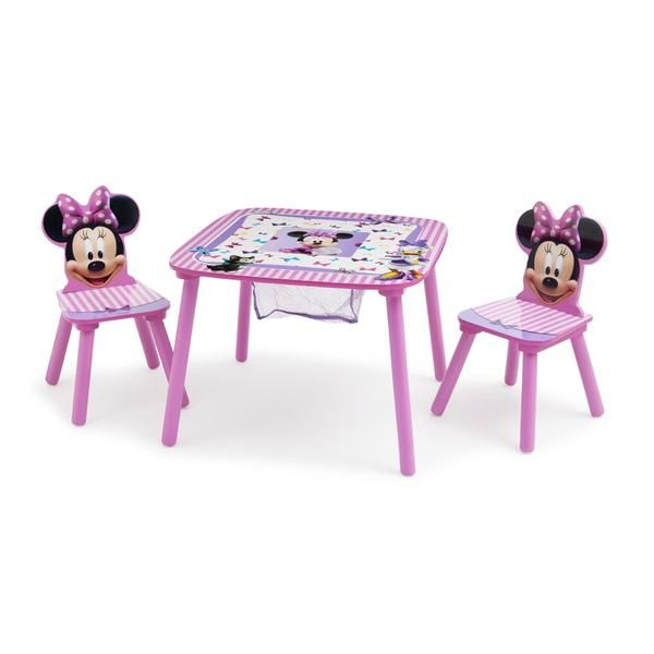 Disney Minnie Mouse Table & 2 Chairs | MiniqueenzRoomN~Bathroom ...