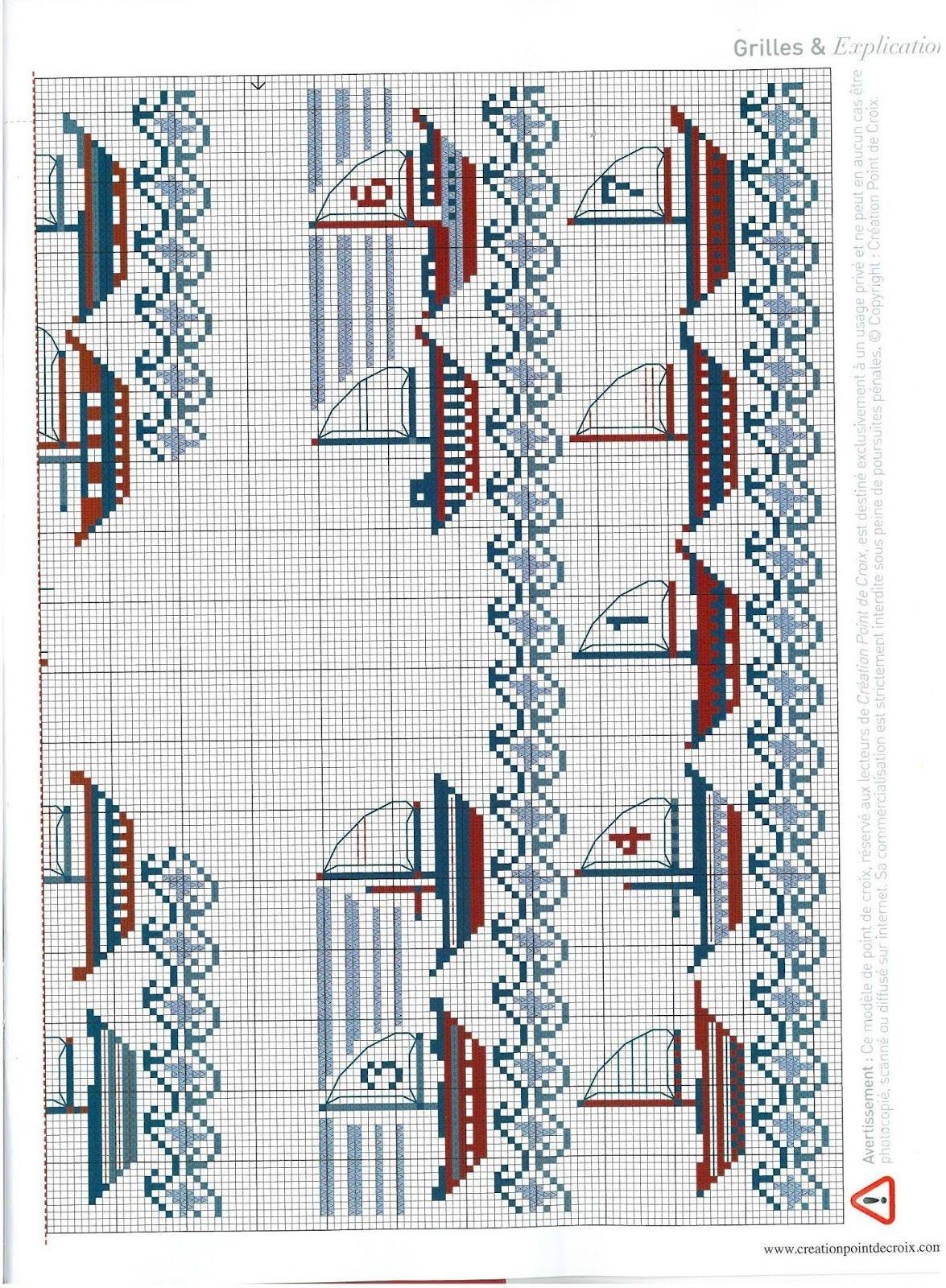Gráficos Ponto Cruz | Cross Stitch 5 | Pinterest | Marino, Punto de ...
