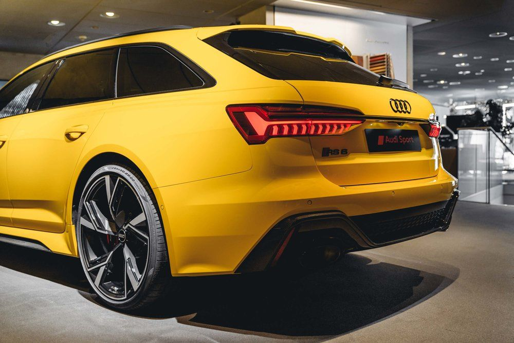 Audi Rs6 Avant C8 2020 Vegasyellow Audi Porsche Bmw