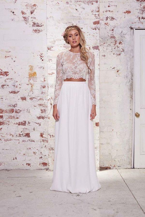traum Designer Hochzeitskleider Spitze online 30 schönsten ...