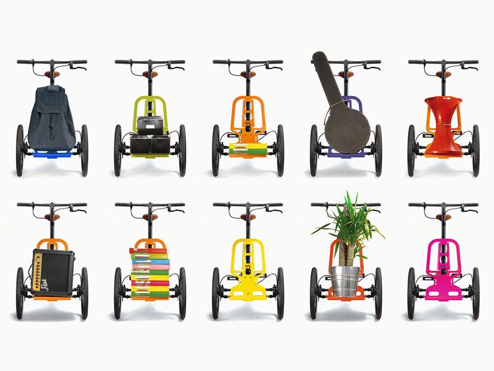 Kiffy Le Mini Tricycle Cargo Design De Norbert Peytour Two Wheels