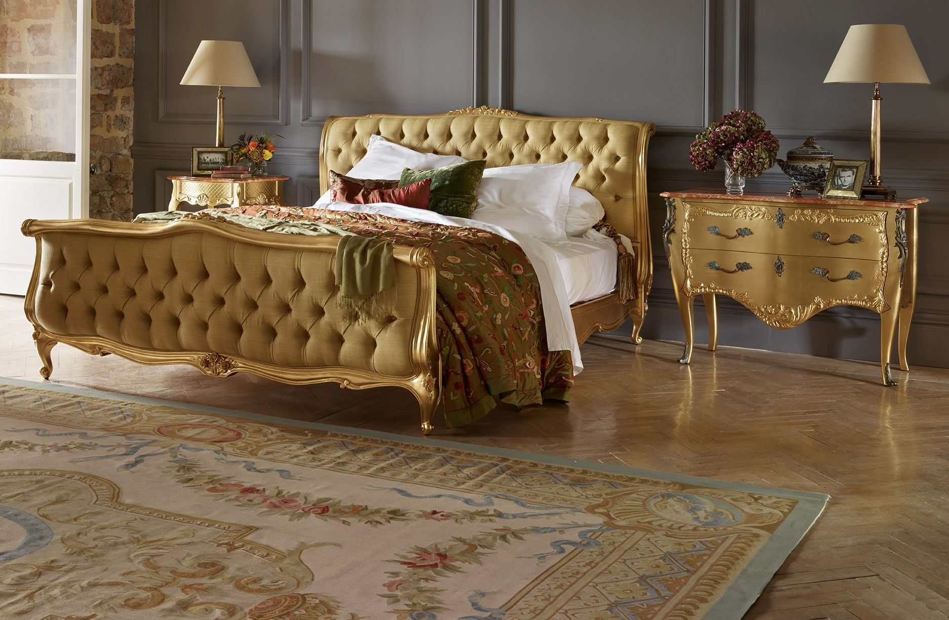 Louis xv bedroom furniture - Explore Luxury Bed Upholstered Beds And More The Louis Xv