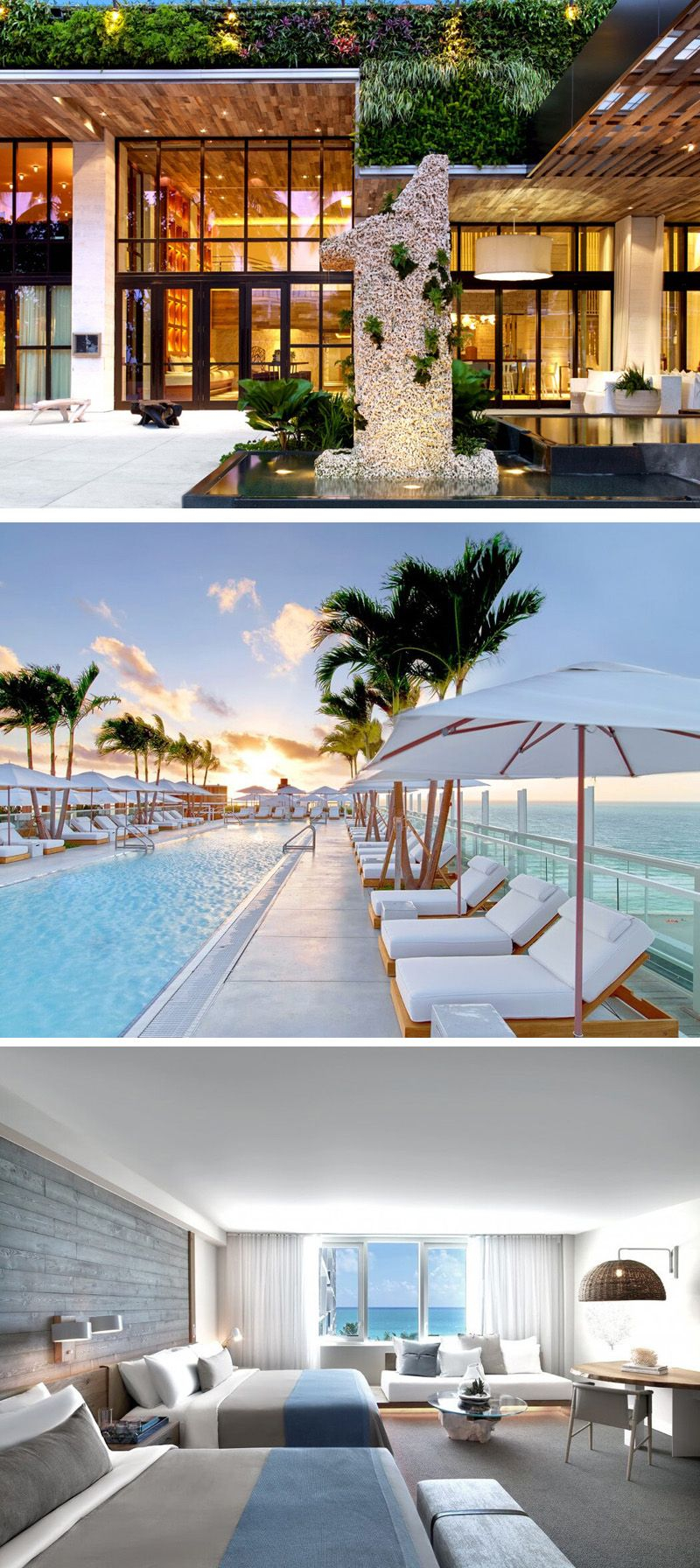 Best Kitchen Gallery: 1 Hotel South Beach Opens In Miami Resorts Pinterest Miami of South Beach Resort Hotels  on rachelxblog.com