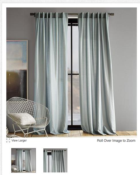 Hadmin Curtains For Grey Walls Blue Walls Living Room Home Decor