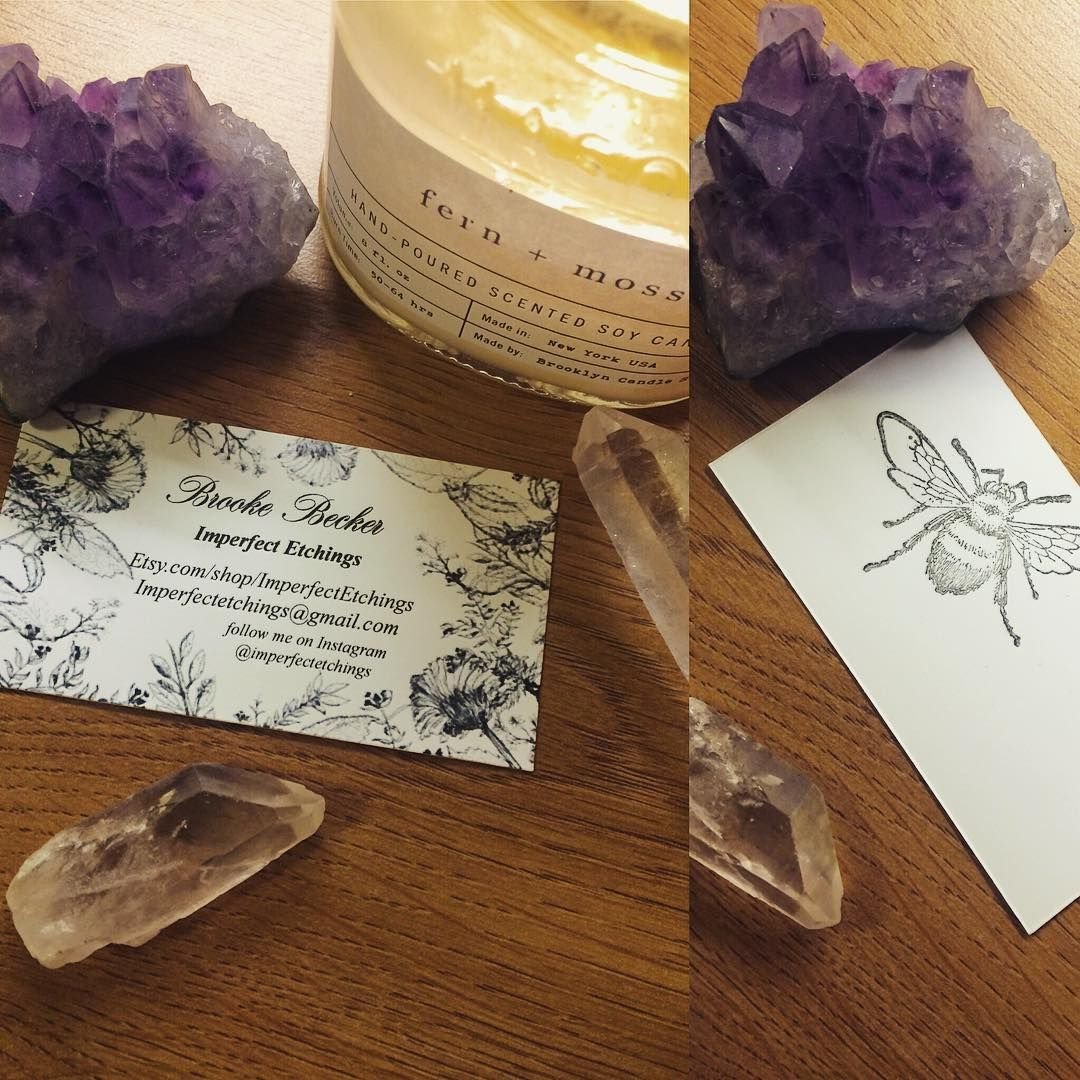 New businesscards imperfectetchings quartz crystal amethyst new businesscards imperfectetchings quartz crystal amethyst candle brooklyncandlestudio magicingreecefo Images