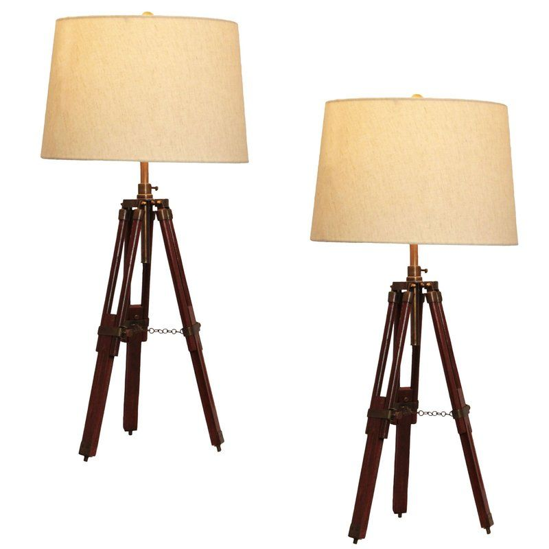 Surveyor 29 Table Lamp Set Set Of 2 By Corral Table Lamp Sets Tripod Table Lamp Lamp Sets