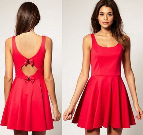 por fin uno que muestra el frente del vestido!!