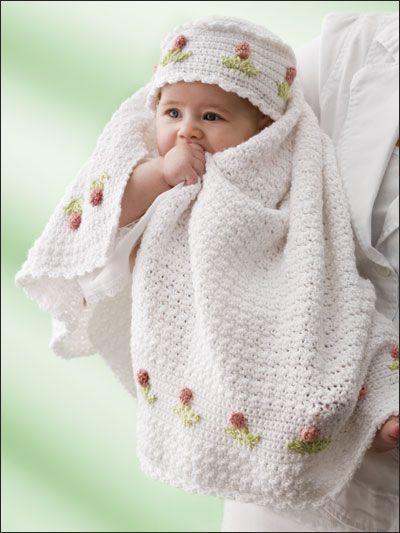Baby tulip pattern   SELBST-GEMACHT   Pinterest   Croché, Mantita ...