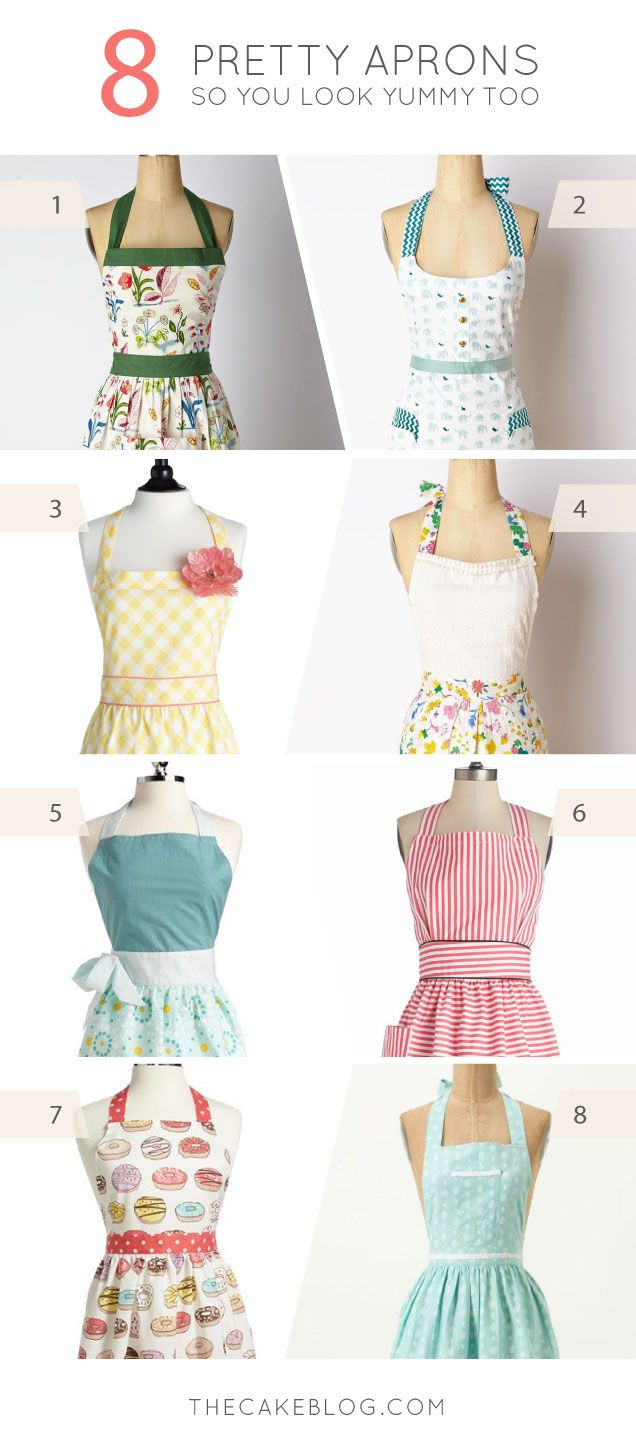 Currently Craving: Pretty Aprons | delantal | Pinterest | Costura ...