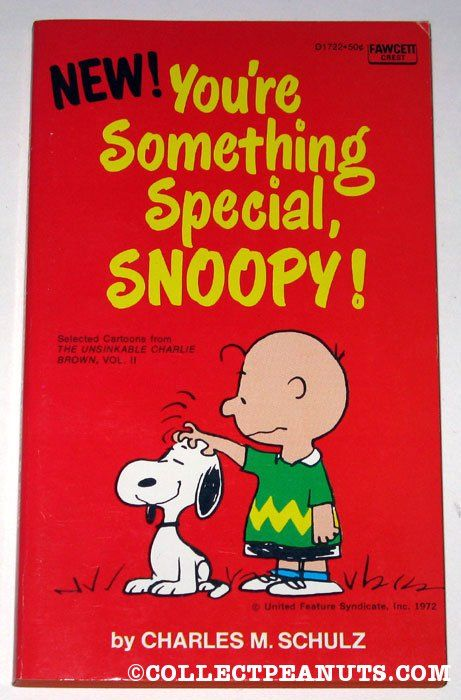 Peanuts Fawcett Crest Books Collectpeanuts Com Snoopy Snoopy Quotes Snoopy Wallpaper