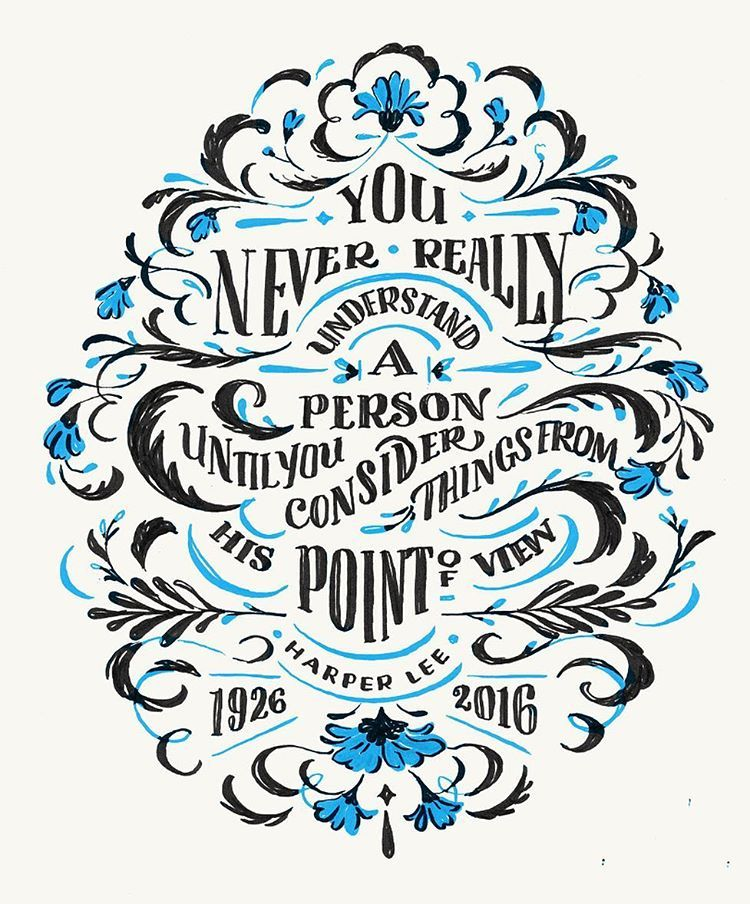 25 Awe-Inspiring Examples of Handwritten Lettering | #Typography ...