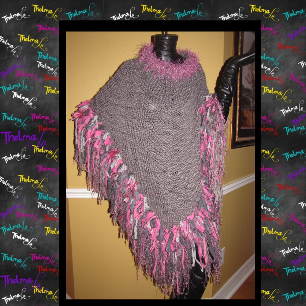 gray and pink prettiness..by ilovethelmalu https://www.etsy.com/listing/175399677/pink-gray-one-of-a-kind-knitted-ultra?ref=shop_home_active_4