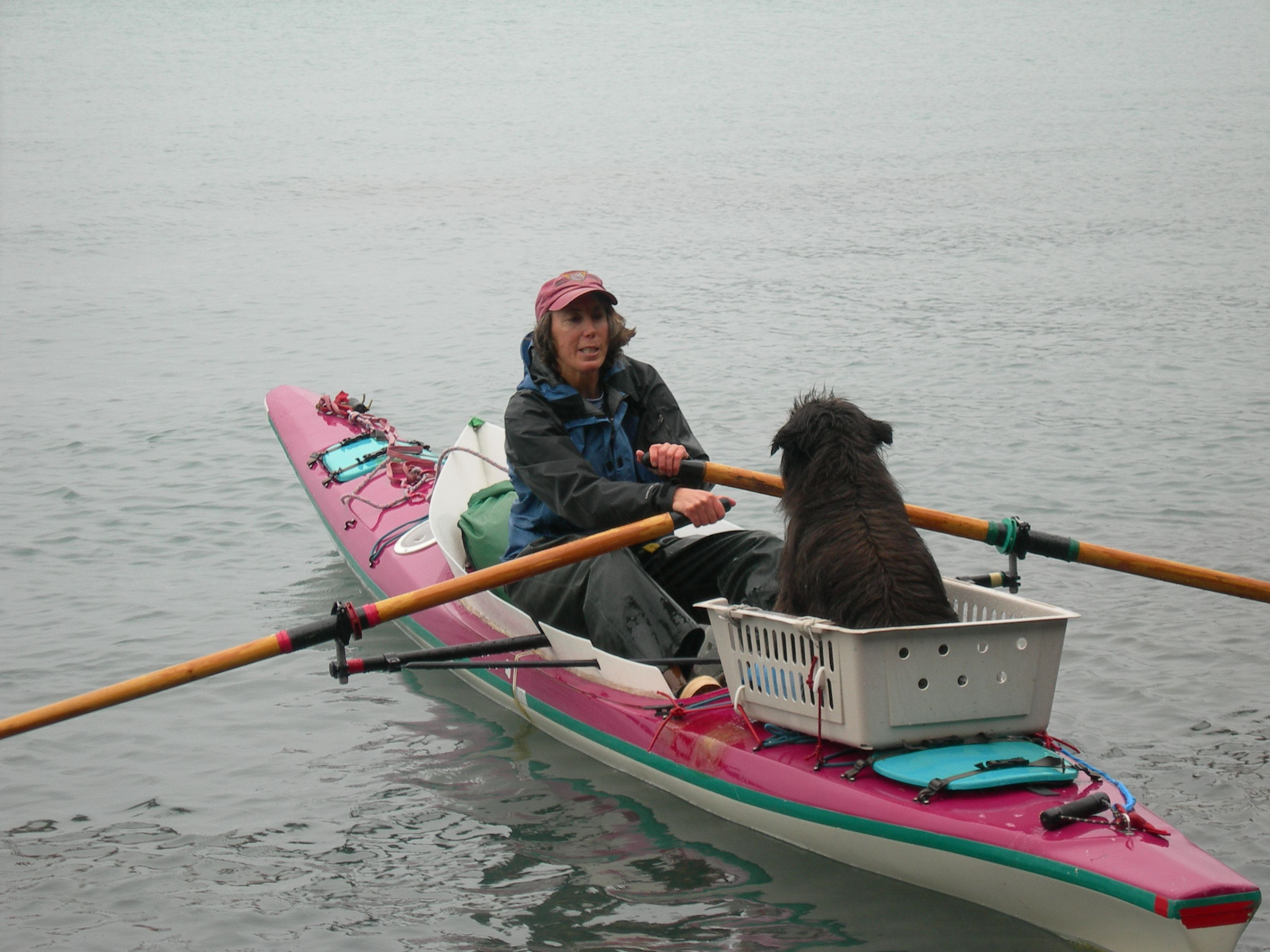 Chance encounter with Jill Fredston, author of Rowing to Latitude: Journeys  Along the Arctic's Edge,