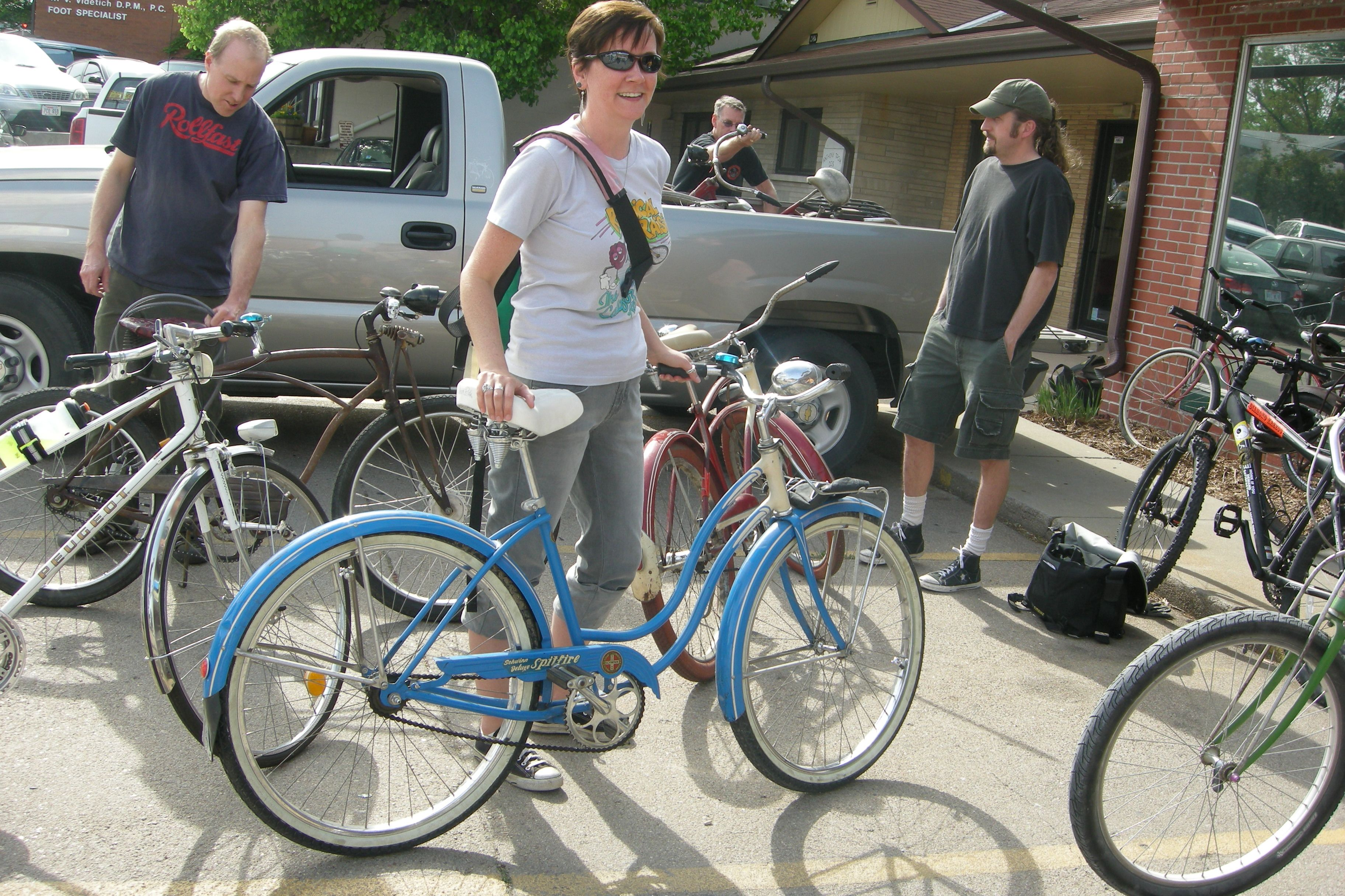 Sunday Rat Ride at Re-cycled, Lincoln NE.